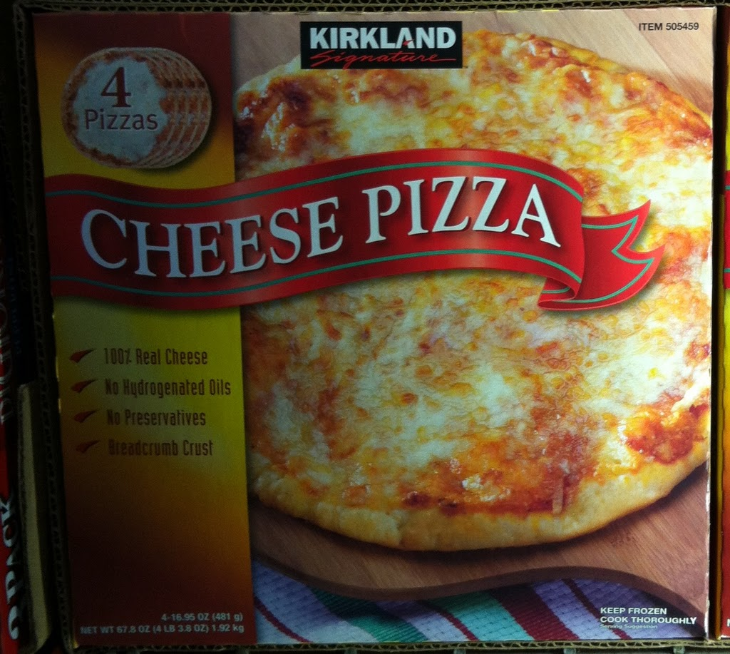 costco take and bake pizza cooking instructions cardboard
